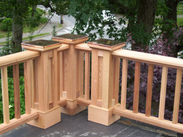 deck builders, new railings, superior carpenters, professional carpentry, deck design, high end carpentry
