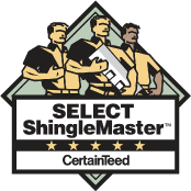 Watertite is a Certified CertainTeed® SELECT ShingleMaster Contractor in Framingham, MA