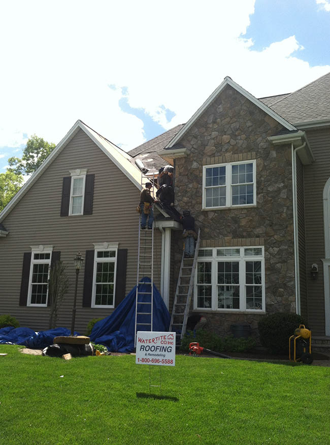 Roofing by Watertite, We install new roofing in Natick, MA, Natick Roofers, Roof replacement in Natick
