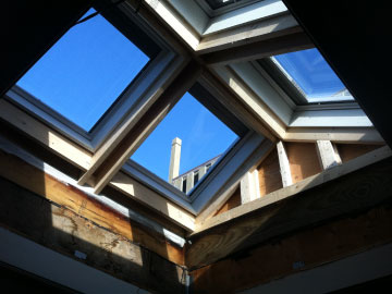 skylight replacement, skylight installation, new skylights boston, massachusetts skylight installers