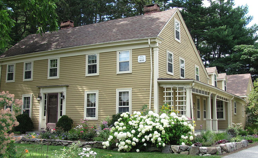 Historical Newton, MA King House - Watertite is a Newton MA Roofing Contractor