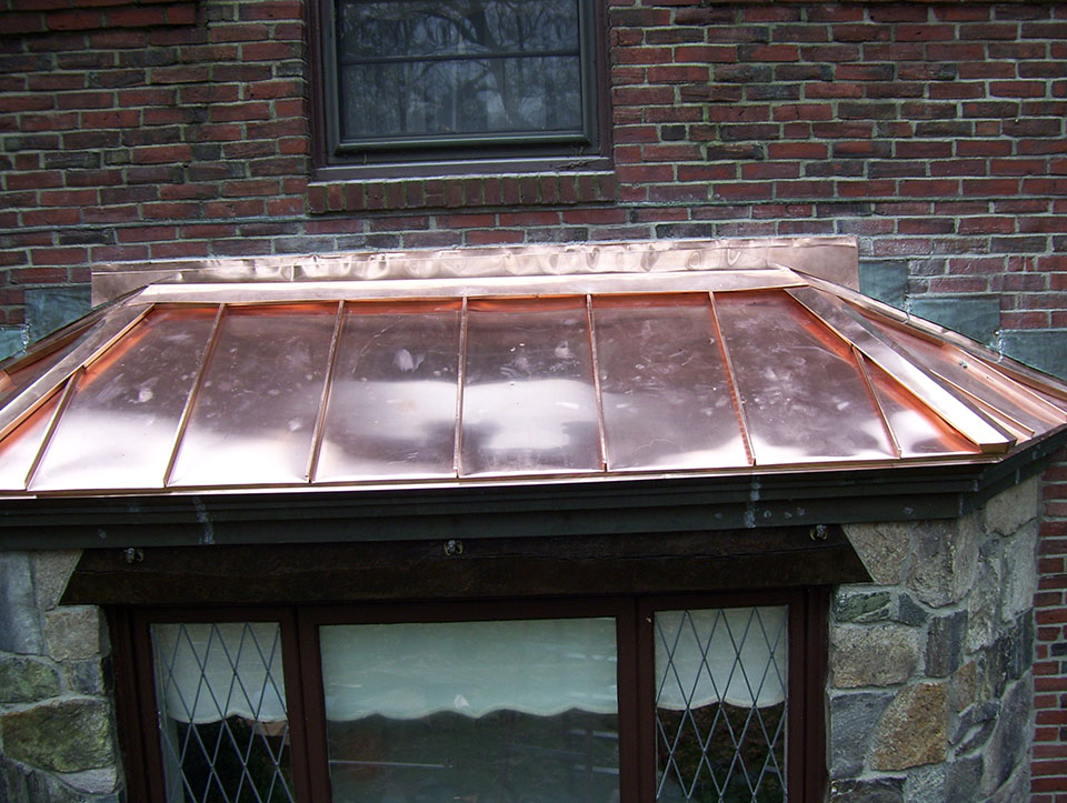 Wayland roofing contractors, custom roofing options, copper roofs, copper flashing - Watertite Co. Inc.